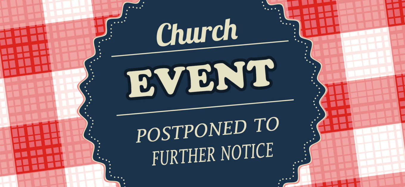 Potluck And Silent Auction Postponed