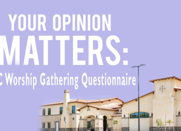 VCC Worship Gathering Questionnaire