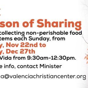 VCC Season of Sharing
