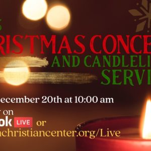VCC'S Christmas Concert and Candlelight Sing- A-Long (Replay Inside)