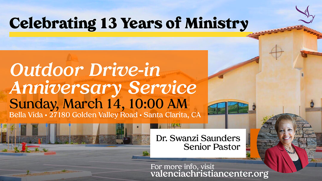 VCC 13th Anniversary In-Person Outdoor Service | Sunday, March 14th