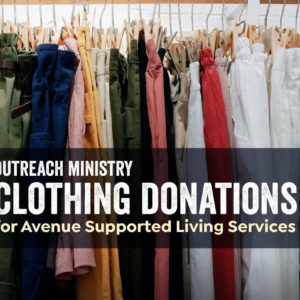 Outreach Ministry: Clothing Donations