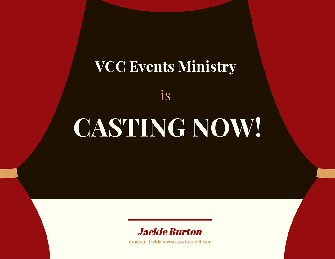 The Events Ministry Casting For Christmas Play